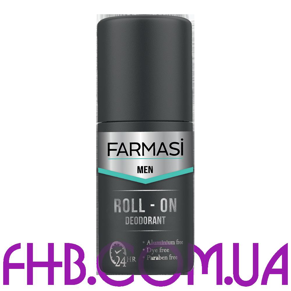 Чоловічий роликовий дезодорант Farmasi Men
