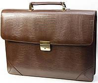 Кожаный портфель Petek 892/2, фото 1