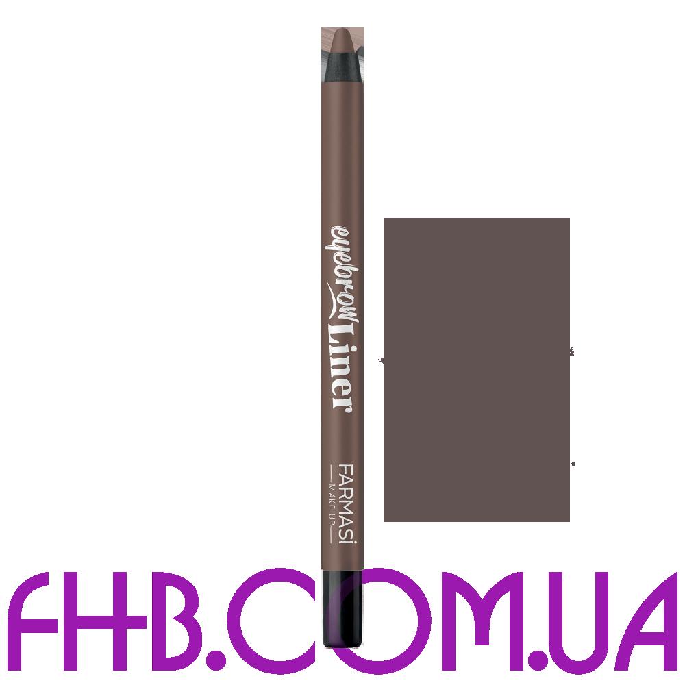 Олівець для брів Eyebrow Liner 02 Кавовий