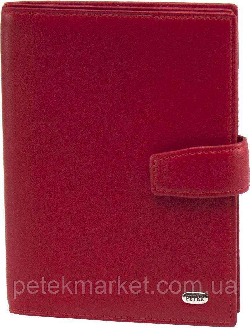 Кожаная обложка для автодокументов и паспорта Petek 595