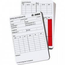 Карточки арбитра для записей Jako REFEREE MEMO CARDS 2163-00