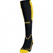 Гетры футбольные Jako Lazio 3866-03 цвет: черный/желтый