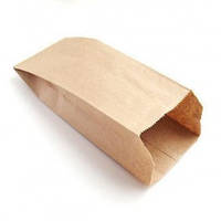 Бумажный пакет 270х140х60 (коричневый,35гр\м2)