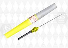 Игла для забора крови JS G-20 (жёлтая) для вакуумных систем