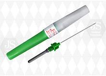 Игла для забора крови JS G-21 (зелёная) для вакуумных систем
