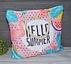 Женская тканевая пляжная сумка Фламинго