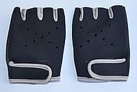 Прорезиненые перчатки для спорта женские., фото 1