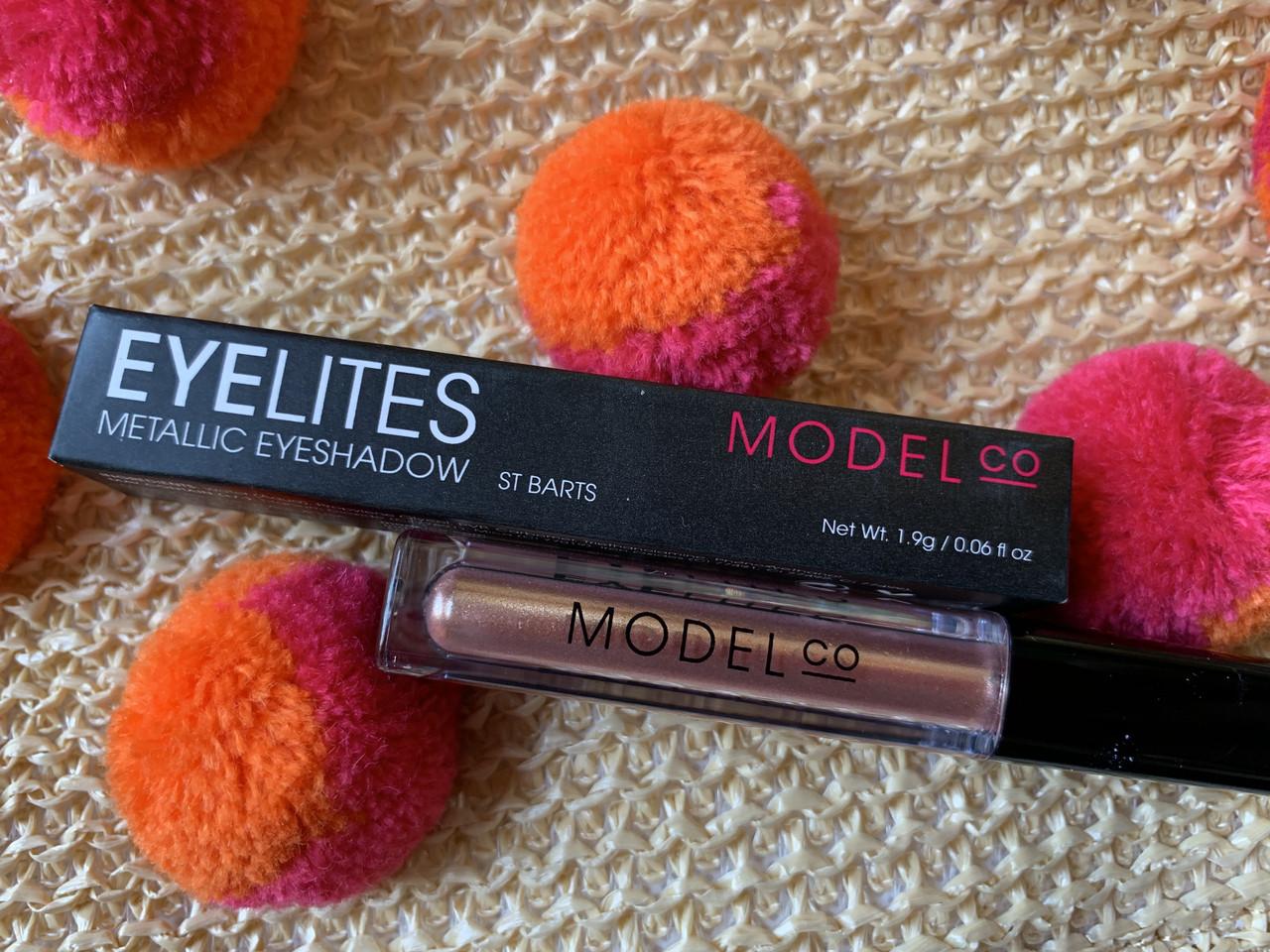 Жидкие тени-металлик для глаз MODEL CO Eyelites St. Barts