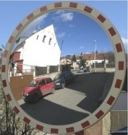 Сферическое зеркало Mega 600