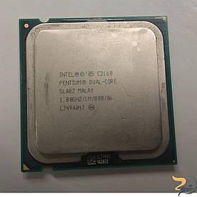 Процесор Intel Pentium Dual-Core, SLA8Z, 1 МБ кеш-пам'яті, тактова частота 1.80 ГГц, частота системної шини 800 Mhz, Б/В. В хорошому стані .