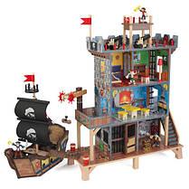 """Деревяный игровой набор """"Піратський форт"""" KidKraft 63284"""