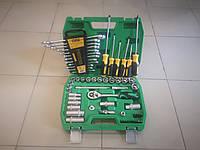 Набор инструментов 39 ед + 12 комбинированных ключей+6  отверток