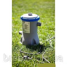 Картриджный фильтр насос Bestway 58381 1 250 л/ч тип I , фото 3