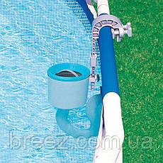 Скиммер для бассейна маленький поверхностный Intex 18946 от фильтр-насоса 1 200 - 6 000 л/ч , фото 3