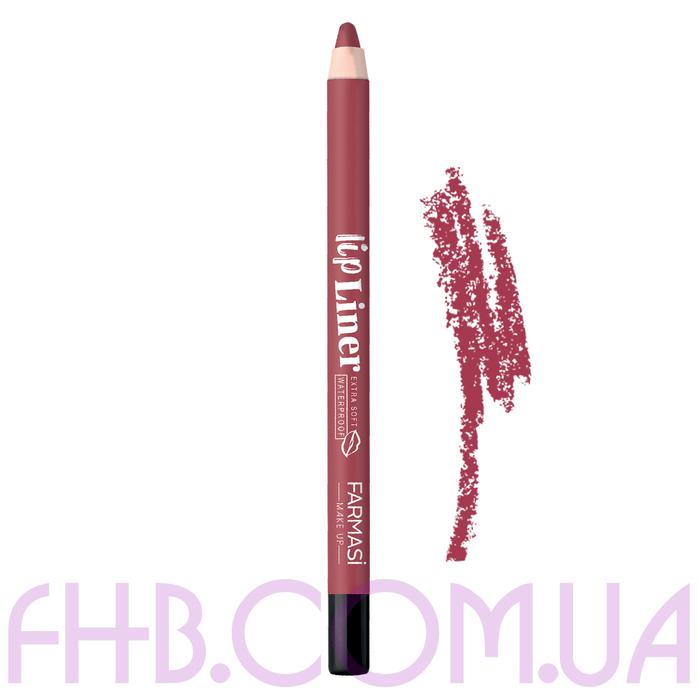 Водостійкий олівець для губ Lip Liner 02 Харизматичний рожевий