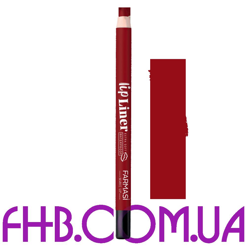 Водостійкий олівець для губ Lip Liner 08 Грайливий Червоний
