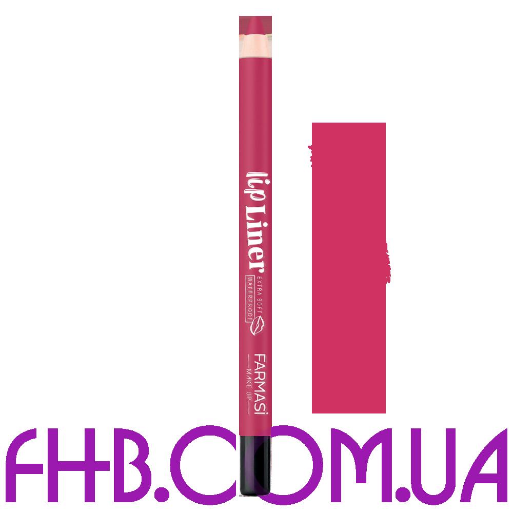 Водостійкий олівець для губ Lip Liner 09 Справжній рожевий