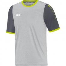 Футболка Jako Jersey Leeds S/S 4217-21-1 детская цвет: серый