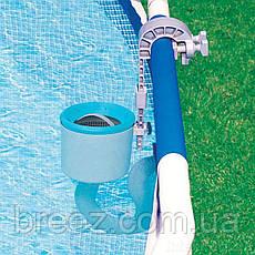 Набор для чистки бассейна со скиммером Intex 28003-1 от 3 028 л/ч, фото 3