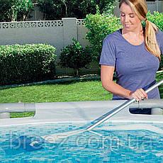 Набор аксессуаров для  бассейнов Bestway 58212 пылесос от насоса мощностью 3 028 л/ч, фото 3