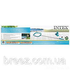 Набор аксессуаров для чистки поверхности бассейна от садового шланга Intex 28002 , фото 3