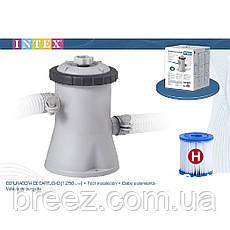 Сменный картридж для фильтр насоса Intex 29007 тип Н 6 шт 10 х 9 см , фото 3