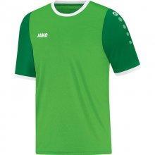 Футболка Jako Jersey Leeds S/S 4217-22-1 детская цвет: зеленый