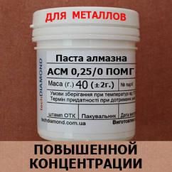 Паста алмазна АСМ 0,25/0 ПОМГ