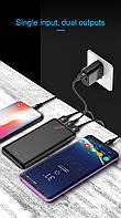 Baseus M35 Power Bank 10000 mAh 2 USB: 5V / 2.1A Max + USB 5V / 1A - покорми свой смартфон, планшет, iphone