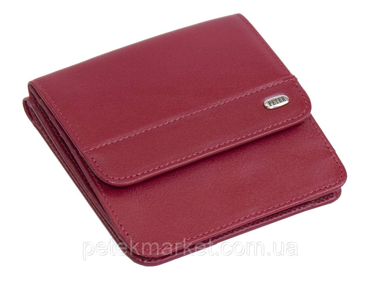 Кожаный женский кошелек Petek 355