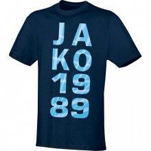 Футболка Jako 1989 6103-09 цвет: темно-синий