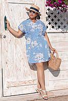 Платье-туника батал , фото 1