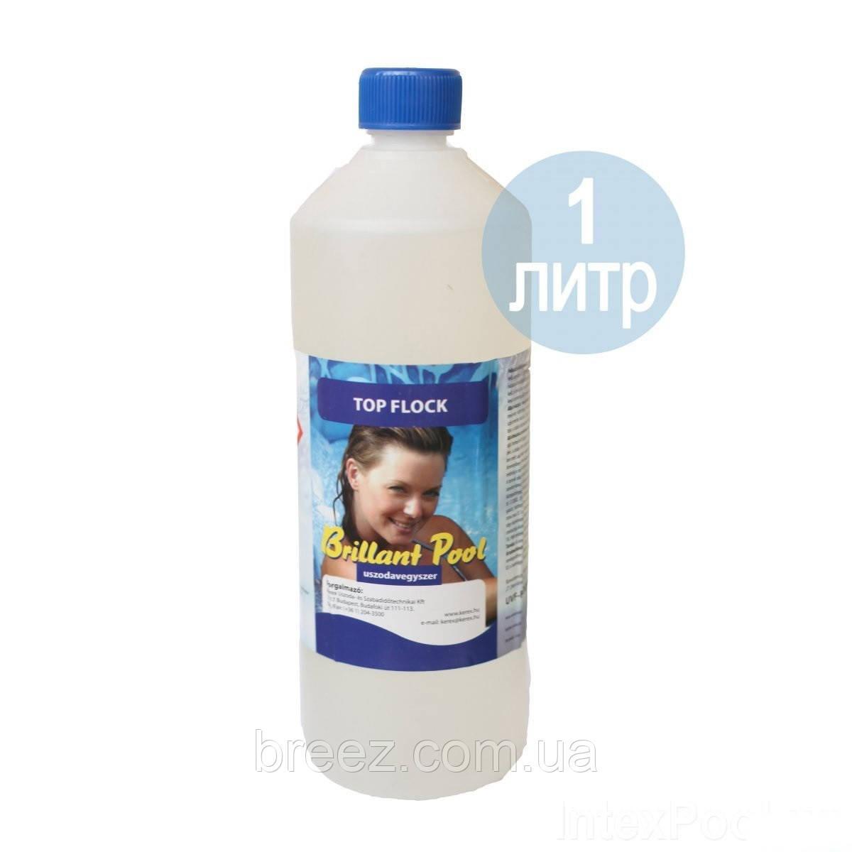 Флокер коагулянт жидкий для воды в бассейне KEREX Венгрия 1 л