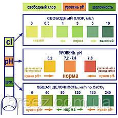 Флокер коагулянт жидкий для воды в бассейне KEREX Венгрия 1 л, фото 2