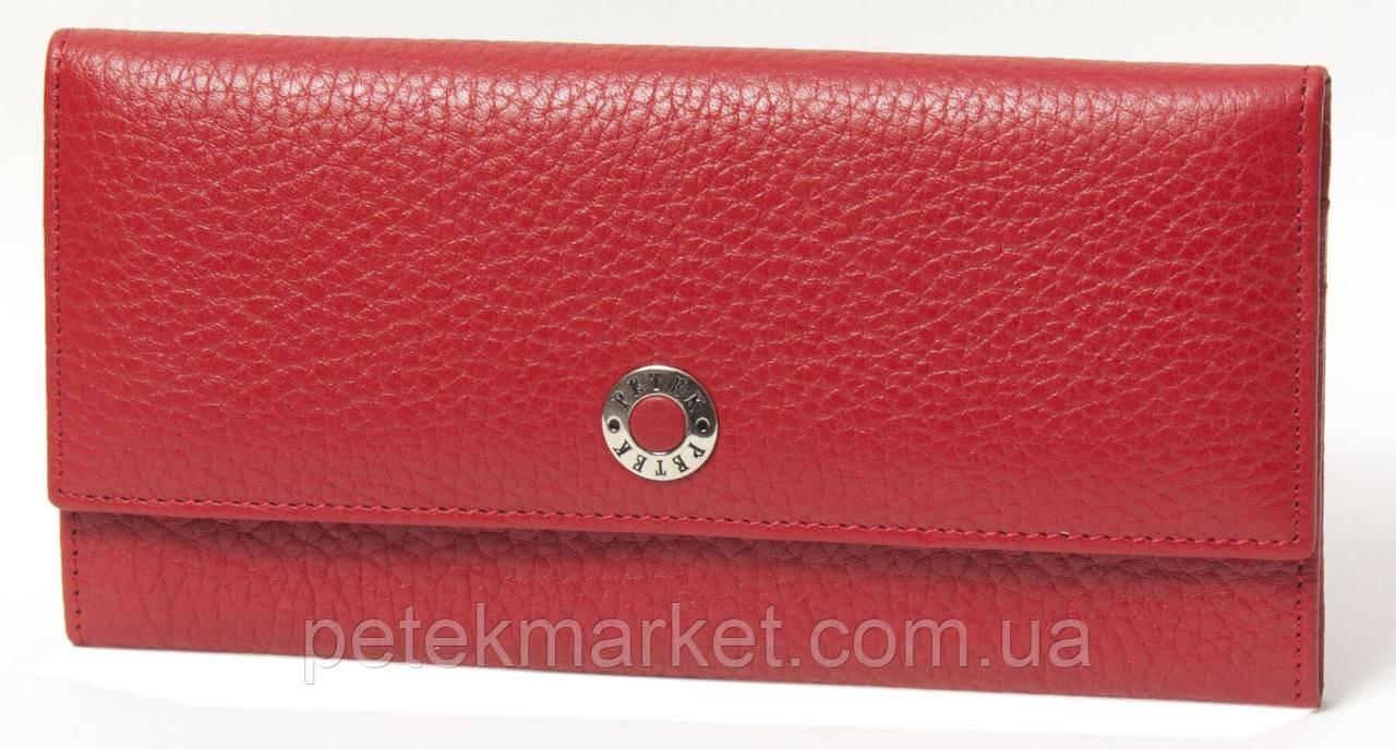Кожаный женский кошелек Petek 301