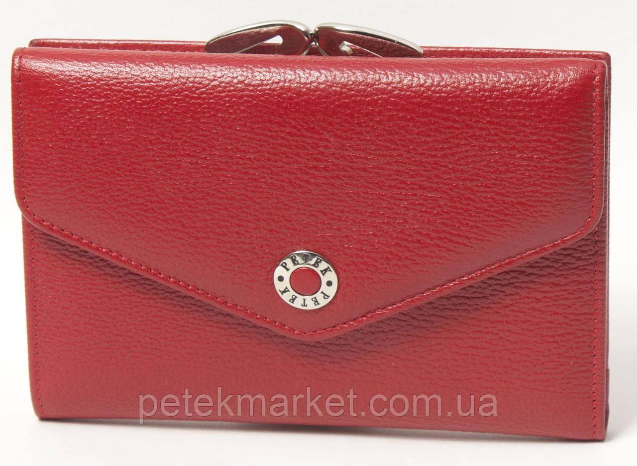 Кожаный женский кошелек Petek 308