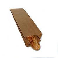 Бумажный пакет для багета 540х100х35 (коричневый, 35гр\м2)