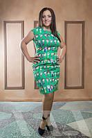 Платье женское больших размеров 2-747 АН $