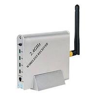 4-х канальный приёмник видеосигнала беспроводных видеокамер стандарта 2.4 Ghz (мод. KY-24GR02)