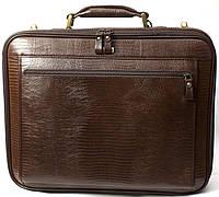 Кожаный портфель для ноутбука Petek 3870, фото 1