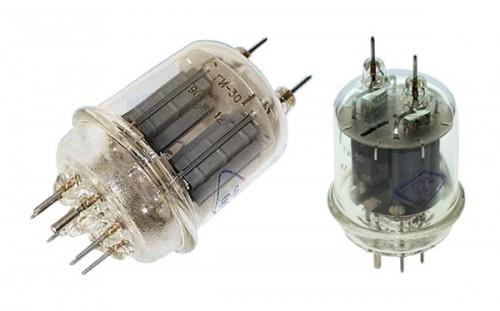 Лампа ГИ-30  сдвоенный лучевой тетрод