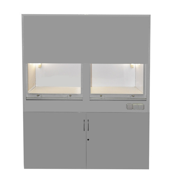 Шкаф вытяжной лабораторный шв-2 медицинский