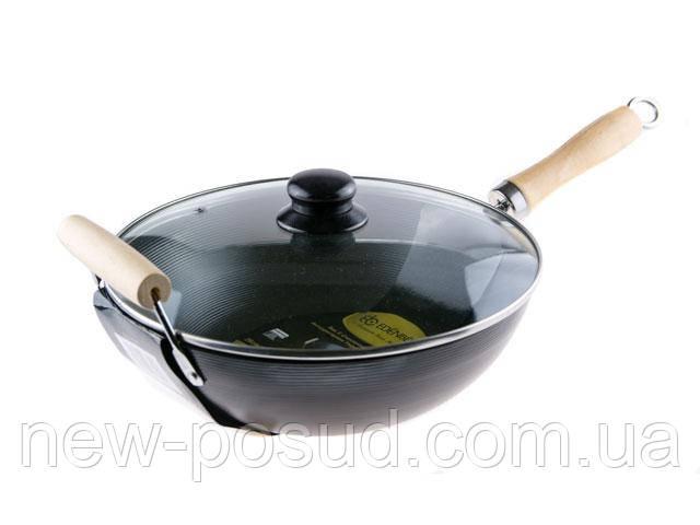 Сковорода - WOK с крышкой 35 см Edenberg EB-3343
