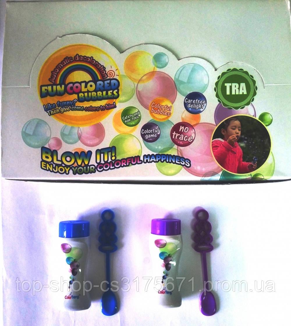 CF19901 Мыльные пузыри цветные запаски 24 шт.