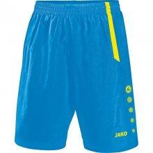 Шорты Jako Shorts Turin 4462-83 цвет: голубой/желтый