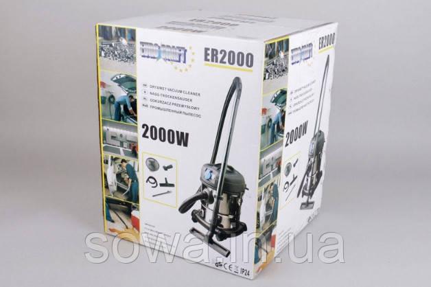 ✔️ Пылесос Euro Craft er2000 / 2000 Вт, 20 л / Гарантия