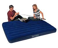 Надувной двухспальный матрас Intex 68759 (152см х203см х 22см), фото 7