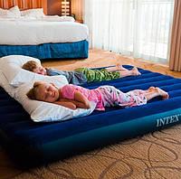 Надувной двухспальный матрас Intex 68759 (152см х203см х 22см), фото 10