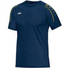 Футболка Jako T-Shirt Classico 6150-24 цвет: темно-голубой