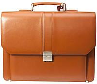 Портфель мужской Petek 862, Коричневый, Гладкая, Матовая, фото 1